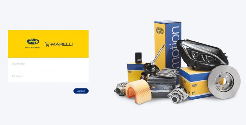 E-Marelli: il nuovo portale E-commerce di Magneti Marelli Parts & Services