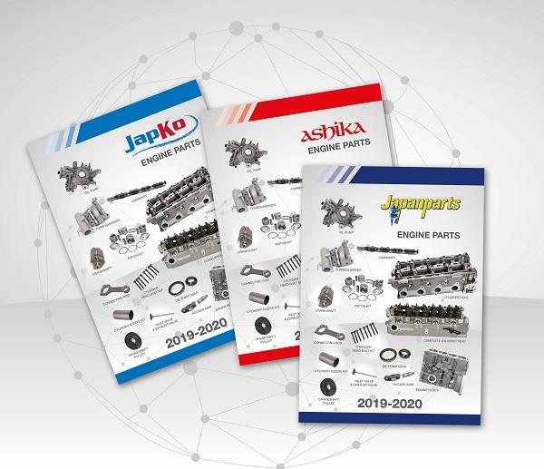 Japanparts Group: nuovi cataloghi rettifica 2019 – 2020