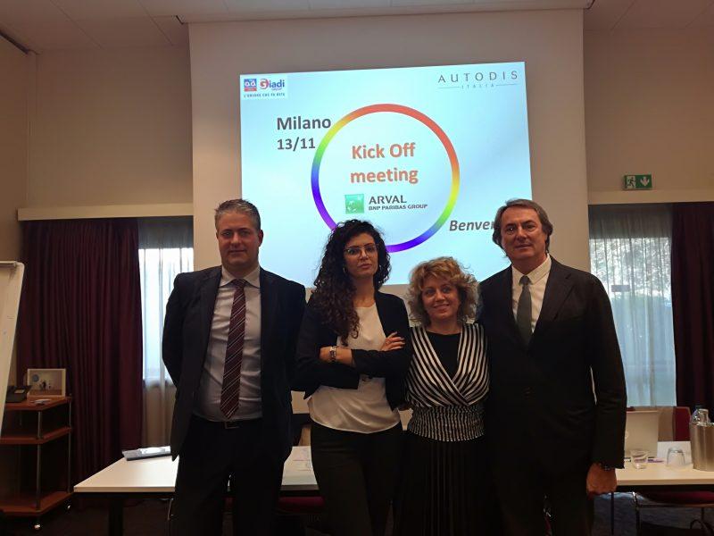 Autodis e Autodistribution siglano l'accordo con Arval per il mercato italiano