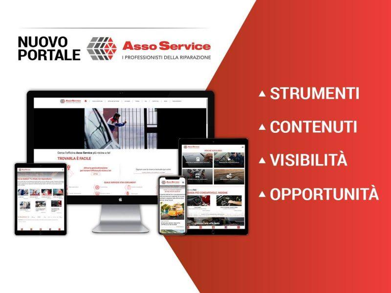 Il nuovo sito Asso Service è online