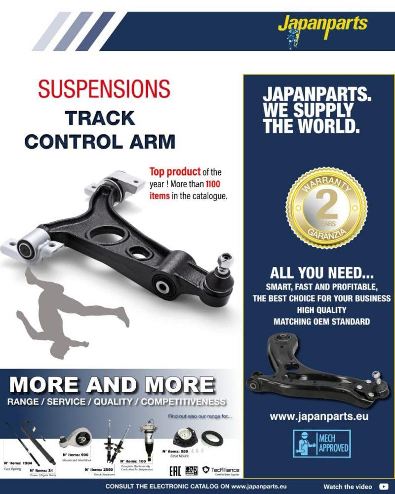 Bracci sospensione: la gamma Japanparts