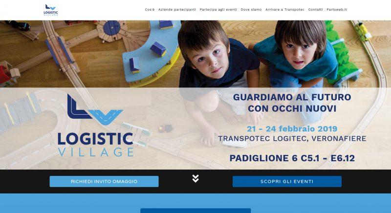 Online il sito Logistic Village