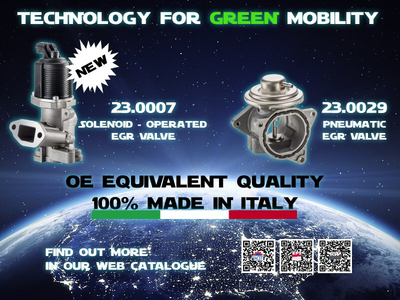Facet: nuove valvole EGR a tecnologia elettrica a solenoide
