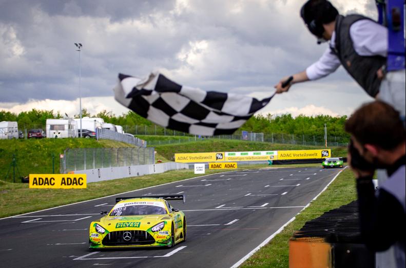 MANN-FILTER vince la prima gara ADAC GT Masters a Oschersleben