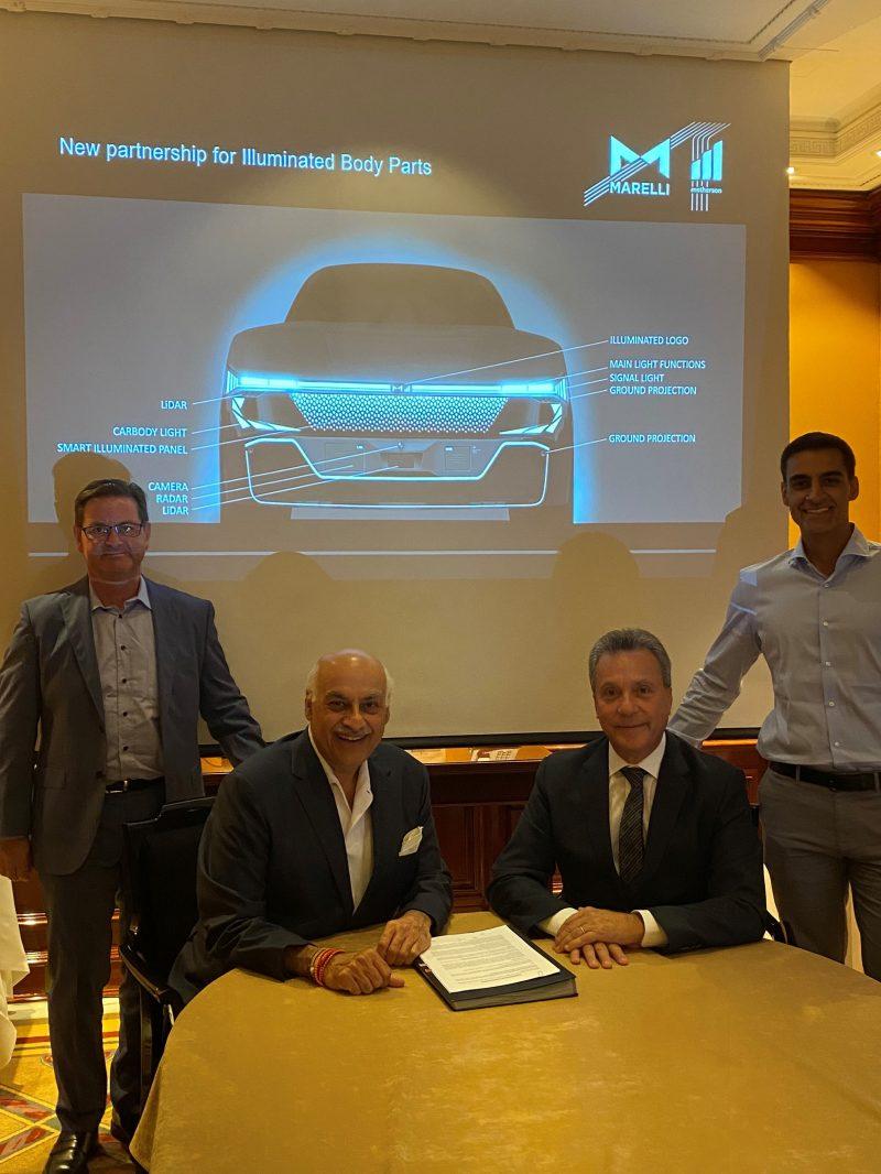 Marelli e SMRP BV in partnership per soluzioni di illuminazione intelligente per superfici esterne auto