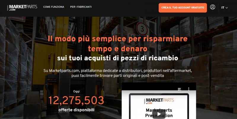 Marketparts.com: 300 marchi OE e IAM presenti nel mercato digitale aftermarket