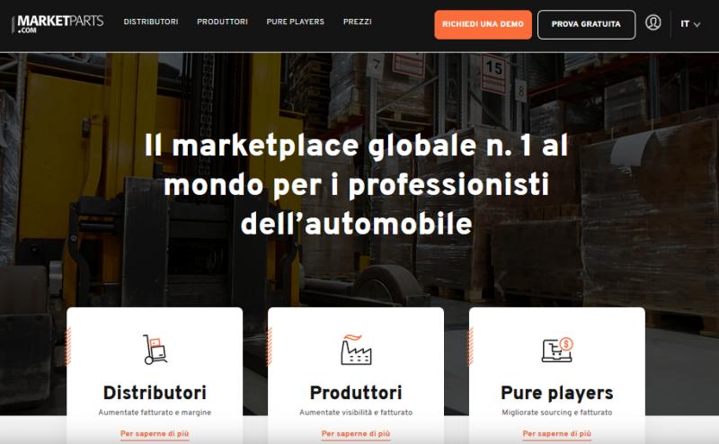 Nasce Marketparts.com