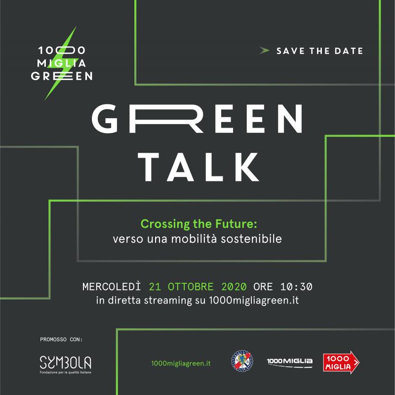 Metelli interviene al Green Talk di 1000 Miglia dedicato alla mobilità sostenibile