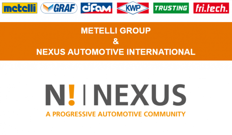 Metelli entra nel pannello fornitori di Nexus Automotive International