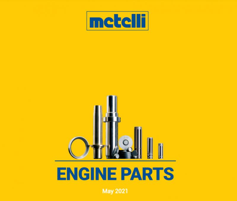 Metelli: nuovo catalogo parti motore 2021