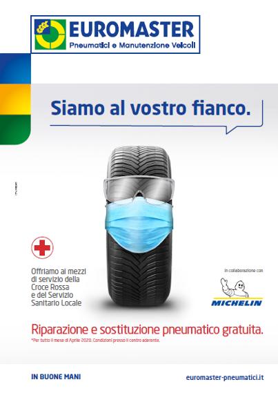 Michelin ed Euromaster estendono il supporto all'ANPAS e alla Confederazione delle Misericordie d'Italia  #iostoconlafilieraautomotive