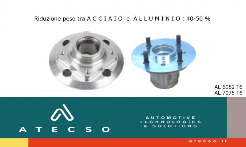 ATECSO: mozzi ruota in alluminio