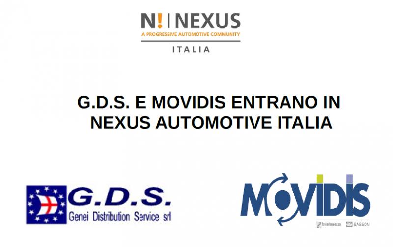G.D.S. e Movidis entrano in Nexus Automotive Italia