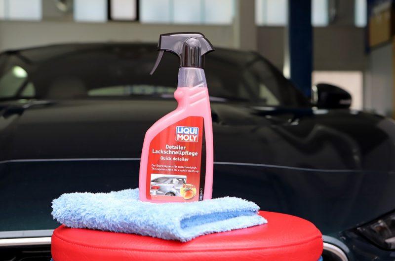 Pulizia auto: LIQUI MOLY presenta Detailer per la cura rapida della vernice