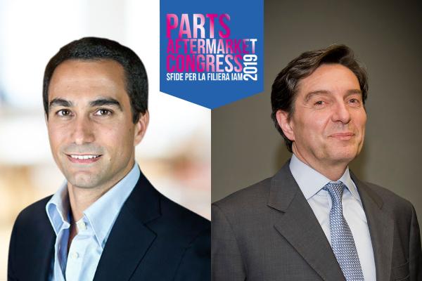 Gianluca Di Loreto e Roberto Vavassori al Parts Aftermarket Congress 2019