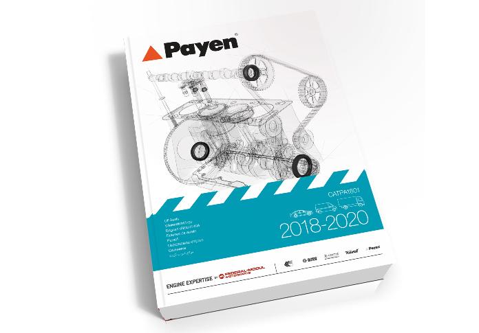 Nuovo catalogo paraoli Payen con 120 nuovi prodotti