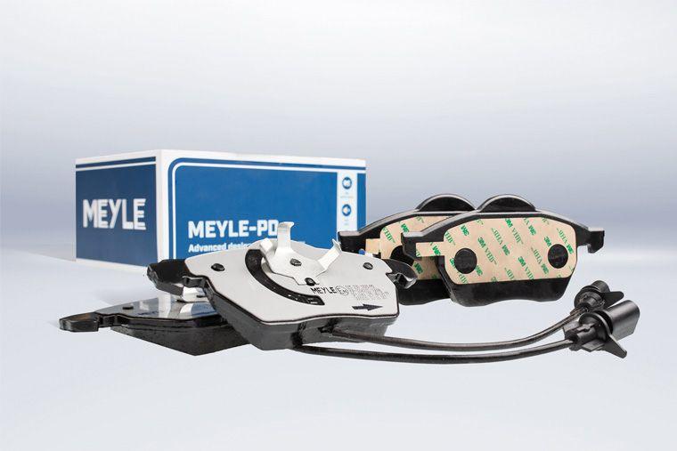 Pastiglie freno MEYLE-PD con mescola tecnicamente avanzata