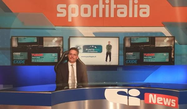 PuntoPRO e Batterie EXIDE in TV su Sportitalia