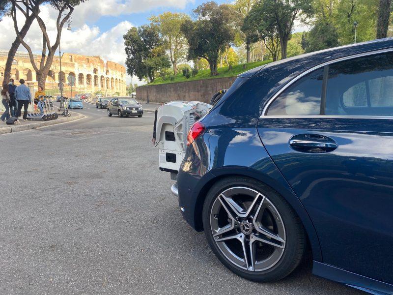 Bosch e Mercedes-Benz: test emissioni in condizioni di guida reale nelle principali città italiane