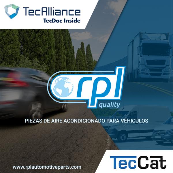 Climatizzazione: RPL Quality entra nei catologhi TecDoc e TecCat