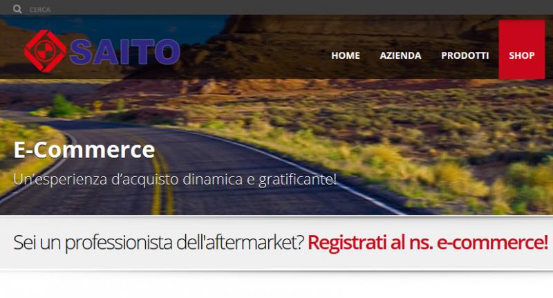 Turbocompressori: nuovo e-commerce Saito