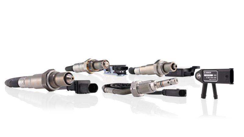Sensori: la gamma Bosch si arricchisce con i sensori di temperatura gas di scarico e i sensori di ossido di azoto