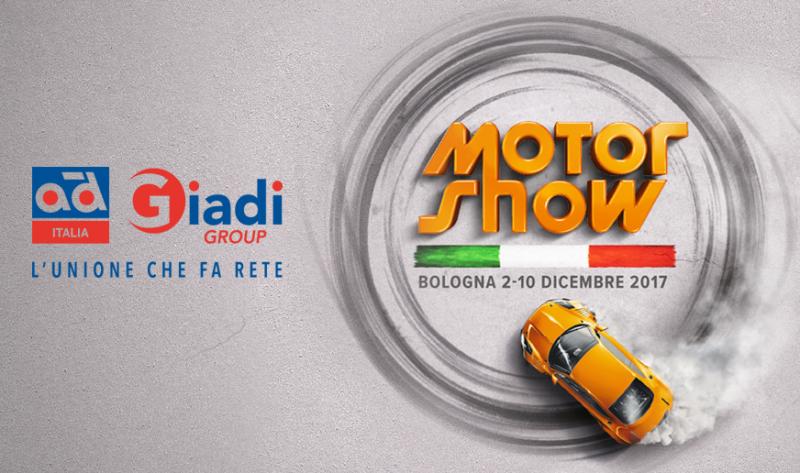 Giadi – AD Italia al Motor Show con un proprio stand