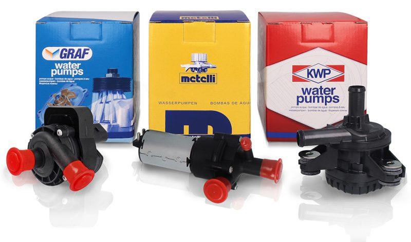 Metelli inserisce le pompe acqua elettriche ausiliarie