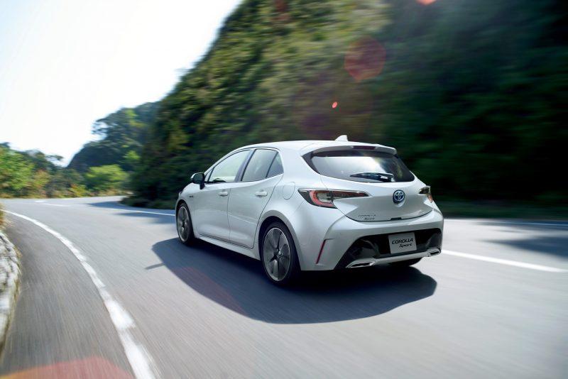 Le lampade di segnalazione LED di OSRAM e Koito sulla nuova Toyota Corolla Sport