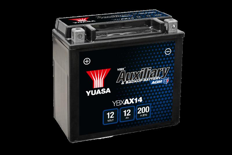 Yuasa lancia la batteria ausiliaria YBXAX14 per Audi, BMW e Mercedes